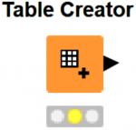 Image of Knime analytics platform Table Creator Node png