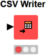 knime csv writer node image